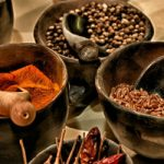 Italian herbs and spices at Eataly