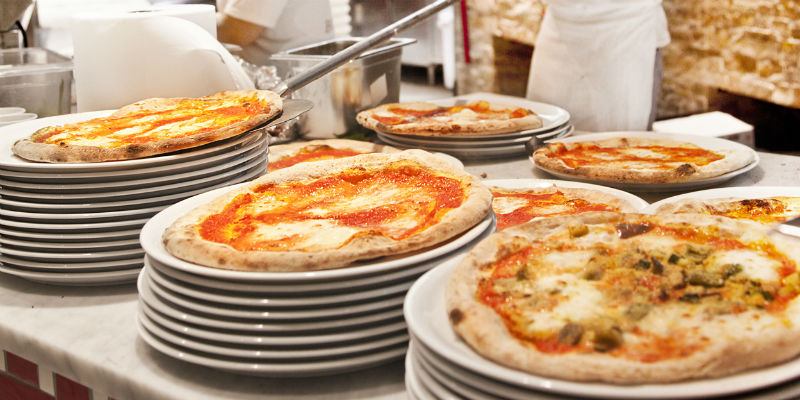 Pizza at Eataly Arabia