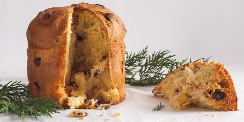 Panettone italiano best holiday cake