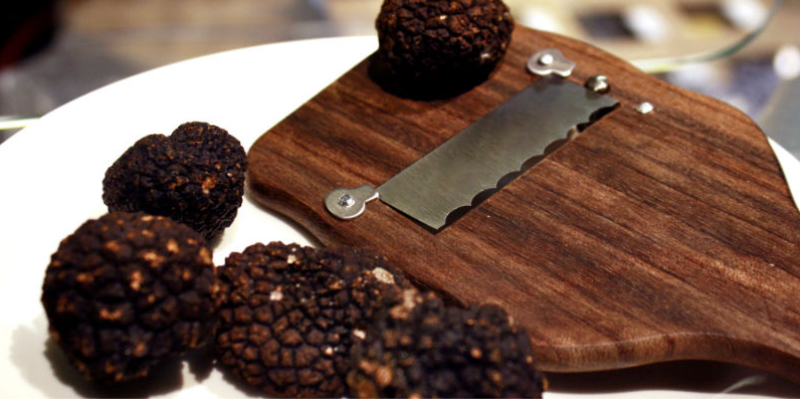 Black truffle menu